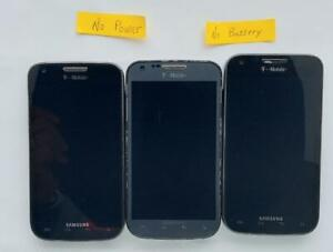 Samsung Galaxy S II SGH-T989 Smartphone as is parts lot of 3 #2