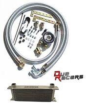 Racimex Ölkühler Kit mit Thermostat und 25 Reiher + Stahlflex Audi RS6 4.5T