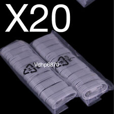 LOT X 20 PCS USB Charger Cable Data Sync Cord For iPhone 7 Plus iPhone 65/5S