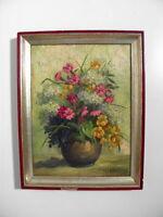 Margarete Horstmann - schönes kleines altes Blumenstillleben - signiert