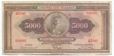 Greece 5000 Drachmas 1932, P-103