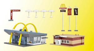 Vollmer 47766 McDonald´s Schnellrestaurant mit McCafe, Bausatz, N