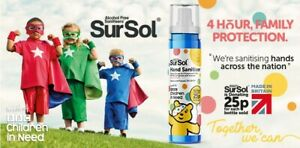 Sursol Hand Sanitiser - In Aid of BBC Children In Need / Pudsey