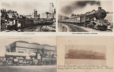 RAILWAY LOCS LOCOMOTIVES UK GRAND-BRETAGNE 12 CPA pre-1940