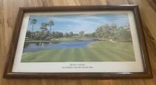 Arnold Palmer Bay Hill, 17th Hole Print, Picture, Framed