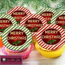 Décorations de gâteau cupcakes pour Noël