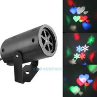 Outdoor Snowflake Laser LED Landscape Light Garden Holiday Projector Christmas