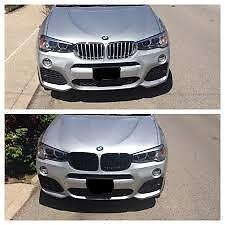 Kidney Grilles Black Genuine BMW X3 X4 M Performance 51712337762 51712337763