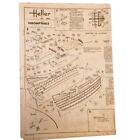 Designs 3 Project Of Construction HELLER 920 Ship French Indomptable
