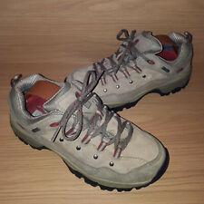 The North Face GoreTex Hiking Shoes Nubuck Suede Ladies UK 6 EU 40 US 8.5 Tan