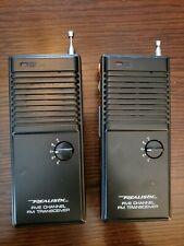 2 Vintage Realistic 21-402 5-Channel Fm Transceiver Walkie Talkies