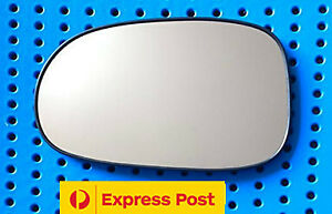 Left side mirror glass for NISSAN PULSAR N16 06/01-12/05 Heated (sedan only)