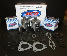 Polaris 900 Fusion / RMK / Switchback Piston Kit w/ Complete gaskets 2005/2006