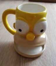 The Simpson's Homer Simpson 3D Face Mug Cup Biscuit Holder Coffee Tea Mug