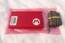 Nintendo DS Lite Mario Limited Edition Red Console Handheld System