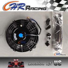 "7"" inch Universal Electric Radiator RACING COOLING Fan + mounting kit ENGINE BAY"