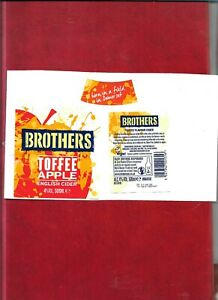 Cider bottle labels - Toffee Apple English Cider by Brothers of Shepton Mallet