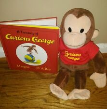 A Treasury of Curious George by H. A. Rey plush  with red shirt(2004, Picture)