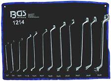 Bgs Serie 12 chiavi Polig. satinate doppie Curve 6-32 - codice Bgs1214