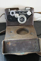 VINTAGE Argus Cintar Camera with Leather Case & Carrying Strap