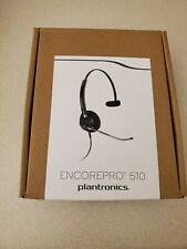 Plantronics EncorePro 510 HW510V - Black Headband Headsets