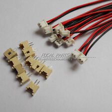 10 Sets Mini. Micro 1.25mm T-1 2-Pin JST Connector with Wire US SHIPING M447