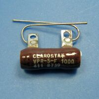 Clarostat 300 Ohm 5W 5% Wirewound Power Resistor Axial Wire Leads Ceramic Body