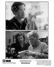 Bedazzled Brendan Fraser/Harold Ramis 8x10 B&W Photo