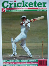 THE CRICKETER INTERNATIONAL JUNE 1990 - GRAHAM THORPE