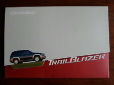 CHEVROLET Trail Blazer 2001 Launch Press Pack with brochure - Geneva Motor Show