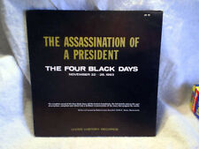 196? THE ASSASSINATION OF A PRESIDENT-Four Black Days john f.kennedy LH-10 LP