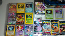 Vintage & New Pokemon Binder Tin 300+ Card Collection Lot Chardizard Rares Holos