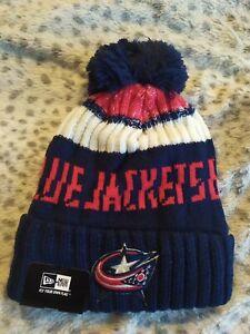 Columbus Blue Jackets Cap Hat NHL Hockey New Era Beanie