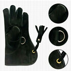 Falconry COWHIDE BLACK LEATHER GLOVE
