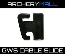 "Archery CABLE SLIDE - Black - GWS 3/8"" offset"