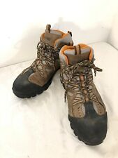 Wolverine Durant Steel Toe Work Boots Mens Brown Skid Resist Waterproof Sz 10.5