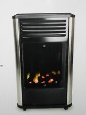 MANHATTAN REAL FLAME CALOR GAS 3KW FLUELESS MOBILE PORTABLE HEATER.