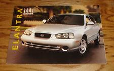 Original 2001 Hyundai Elantra Deluxe Sales Brochure 01