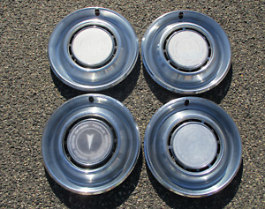 1975 1976  Pontiac Catalina Bonneville 15 inch hubcaps wheel covers