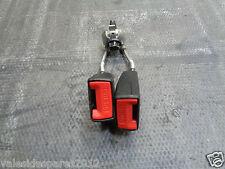 CITROEN C3 Pluriel 2009 Doble Hebillas de Cinturón de Asiento Trasero