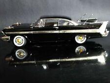 1:18 Plymouth Fury 1958 Schwarz/Gold Premium DieCast Collection Motor Max OVP
