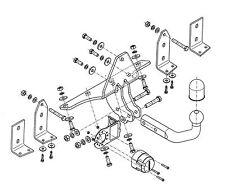 Anhängerkupplung für SAAB 9-5 95 1997-07/2010 4tür starr