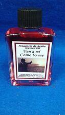 Oil, Aceite VEN A MI,  COME TO ME religion yoruba santeria IFA