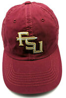 FLORIDA STATE UNIVERSITY FSU SEMINOLES red adjustable cap / hat - 100% cotton