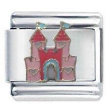 Princess Castle - JSC DAISY CHARM Italian Charm Bracelet Charms