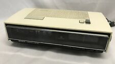 Vtg Sony Digimatic Lifetime Flip Clock AM/FM Radio TFM-C660W JAPAN White TESTED