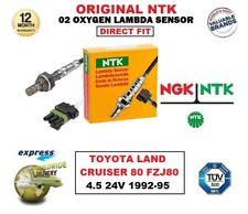 NGK NTK O2 Sauerstoff Lambdasensor für TOYOTA LAND CRUISER 80 FZJ80 4.5 24V