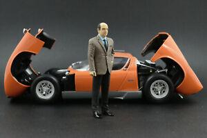 Nuccio Bertone Figure for 1:18 Lamborghini Espada Miura AUTOart  !! NO CAR !!