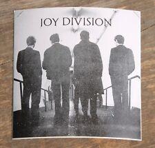 "Vintage Joy Division Rock Band Sticker 4"" x 4"" +"