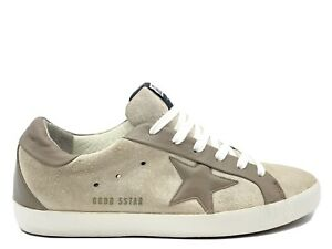 Golden Goose Deluxe Brand SuperStar Leather Suede Low Top Sneaker Shoes Size 39